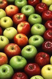 Algunas variedades de manzana